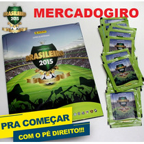 Album Completo Campeonato Brasileiro 2015 Figurinhas P/colar