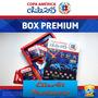 Copa América Album Box + Capa Dura + Capa Mole + 348 Figurin