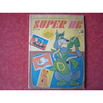 Álbum De Figurinhas Super Hb Saraiva Completo Hanna Barbera