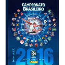 Álbum+60 Figurinhas Brasileirão 2016 Capa Dura!!!