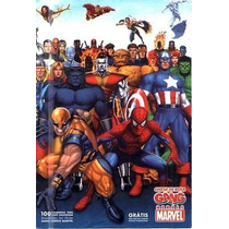 Brasil 2006 Álbum Chicle De Bola Gang Heróis Marvel Vazio