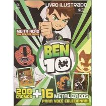 Ben 10 E Os Alies -2013 - Album Completo Figurinhas P/ Colar