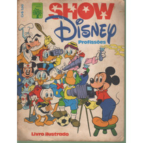 Album Show Disney Profissoes 1978 Ed. Abril Completo