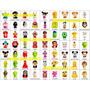 Coleção Super Completa 65 Gogos Disney Claro/panini