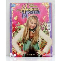 Álbum Vazio De Figurinhas Hannah Montana Perfeito Estado
