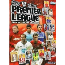 Premier League 2014 - Album De Figurinhas Completo