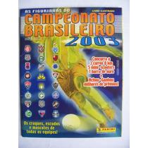 Album Campeonato Brasileiro 2003 + Figurinhas Colar Completo