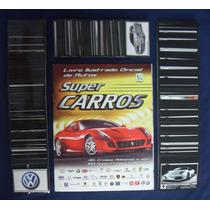 Álbum De Figurinhas Super Carros + 100 Cards - Completo