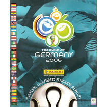 Álbum De Figurinhas Digitalizado Copa Do Mundo 2006 Panini
