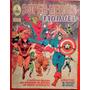 Álbum De Figurinhas - Super-heróis Marvel - 54 Figurinhas