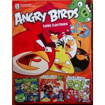 Álbum Figurinha Incompleto Abril Angry Birds 2014