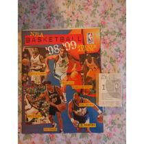Album Nba Basketball 98/99 Panini Completo P/ Colar