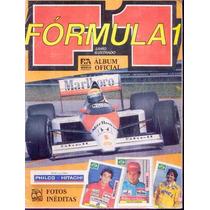 B3431 Fórmula 1 - Raro Álbum Oficial De Figurinhas Completo