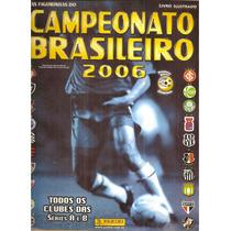 Album Campeonato Brasileiro 2006 Completo + Brinde Envelope
