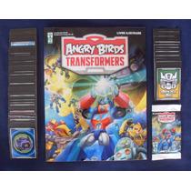 Álbum Figurinhas Angry Birds Transformers - Completo P/colar