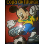 Álbum Copa Disney 2002 Incompleto