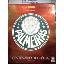 Álbum Palmeiras Vazio + Lote Com 100 Figurinhas Diferentes
