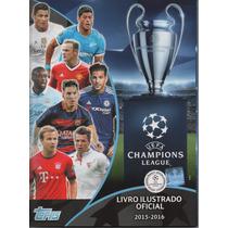 Álbum Uefa Champions League 2015/2016- Completo - Para Colar