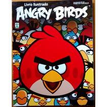 Álbum Figurinha Incompleto Abril Angry Birds 2012