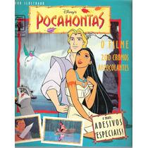 Álbum De Figurinhas Pocahontas O Filme Frete Grátis