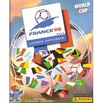 Álbum De Figurinhas Completo Copa Do Mundo 1998 Panini (dg)