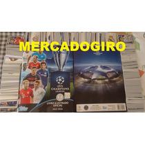 Album Completo Champions League 2015/2016 Fig/soltas P/colar