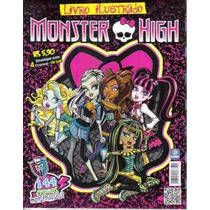Album Completo Monster High C/ Figurinhas Para Colar R$45,00
