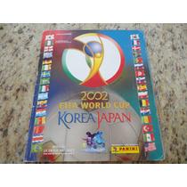 Álbum Copa 2002 Korea Japan - Muito Bem Conservado