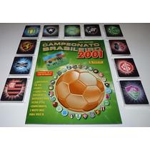 Album Brasileiro 2001 Completo Para Colar Todas Holográficas