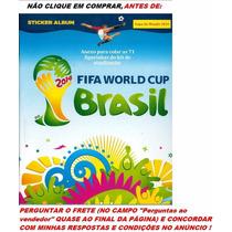 Anex Álbum Copa Mundo 2014 Colar Figurinhas Kit Atualização