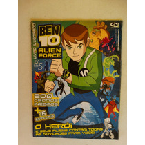 Album Ben 10 Alien Force! Falta 34 Figurinhas De 216!