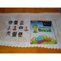 Album Da Copa 2014 Novo Sem Uso + 10 Figurinhas De Brinde