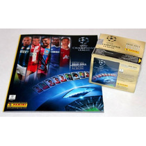 Uefa Champions League 2010/11 - Album + Box 50 Envelopes