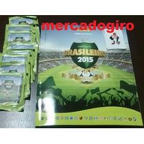 Album Campeonato Brasileiro 2015 + 50 Envelopes Lacrados