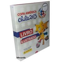 Box Premium Copa América 2015 Capa Dura + 348 Cromos P/colar