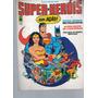 Álbum Super-heróis Em Ação! Incompleto! Sebo Da Bidi