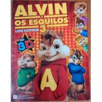 Álbum Figurinha Vazio Alto Astral Alvin Os Esquilos 3d