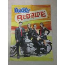 Álbum De Figurinhas Rbd Rebelde Chiclete Buzzy