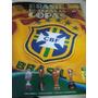 Lote C/100 Figurinhas Brasil De Todas As Copas.