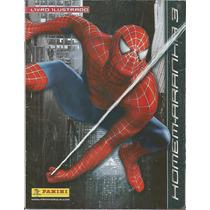Brasil 2007 Álbum De Figurinhas Homem-aranha 3