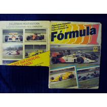 Álbum De Figurinhas Fórmula 1 1988 - Quase Completo