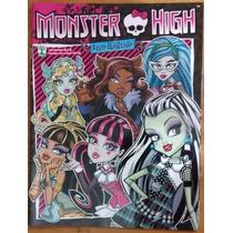 Álbum Figurinha Vazio Abril Monster High 2013