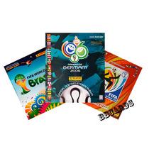 Álbum Vazio Copa Do Mundo 2006 2010 2014 Panini P/ Escolher