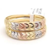Joalheriavip Anéis Aparadores Aliança Ouro 18k Aro 25