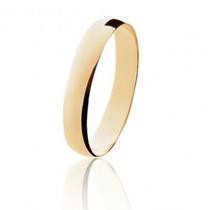 Aliança Casamento Em Ouro 18k Abaulada Frete Grátis Lefine