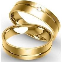 Par Aliança Ouro 18k Garantia Permanente Lindas!! Promoção!!