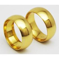 Alianças De Moeda Antiga 8mm Para Casamento & Noivado