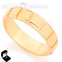 Rommanel Aliança Anel Ouro 18k Noivado Compromisso 512073