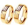 Alianças De Noivado Casamento Ouro 18k 12gr Excelente Preço