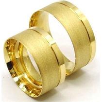 Oferta Lindo Par De Alianças 10mm Casamento De Moeda Antiga